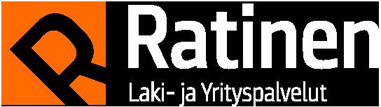 Laki- ja yrityspalvelu Ratinen Oy -liiketunnus
